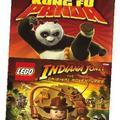 Indiana Jones и Kung Fu Panda лицензия (Xbox 360 )